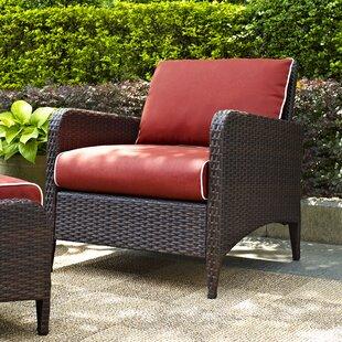 Mosca Patio Chair with Cushion