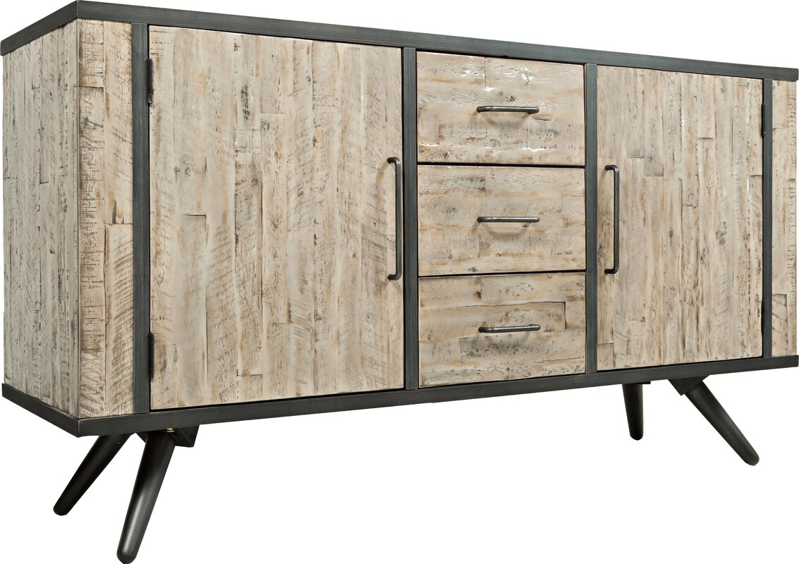 default_name - Union Rustic Shirlee Solid Wood Buffet Table & Reviews Wayfair