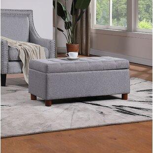 Arlein Solid Wood Flip Top Storage Bench