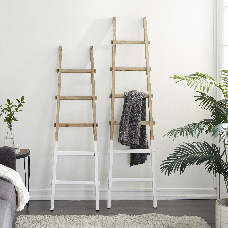 Venta > white wooden blanket ladder > en stock
