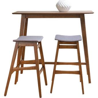 Fletcher 3 Piece Pub Table Set