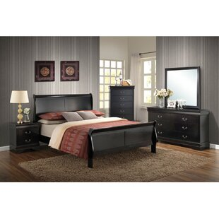 Silesia Twin Sleigh 5 Piece Bedroom Set
