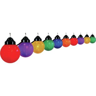 Polymer Products 10-Light Globe String Lights