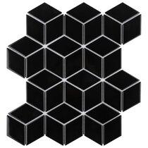 Black Diamond Floor Tiles Wall