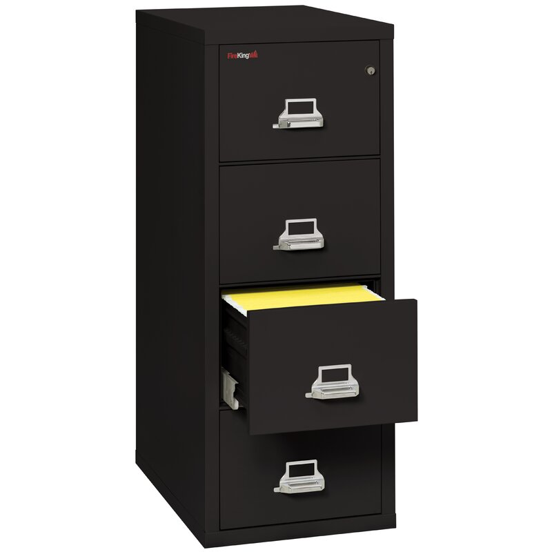Fireproof 4 Drawer Vertical File Cabinet