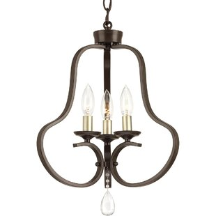 Valeria 3-Light Semi Flush Mou..