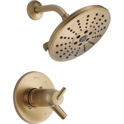 Delta Trinsic® Bathroom Thermostatic Shower Only Trim Finish: Brilliance Champagne Bronze