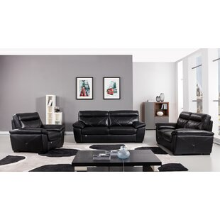 Read Reviews Italian Configurable 3 Piece Living Room Set by American Eagle International Trading Inc. Reviews (2019) & Buyer's Guide