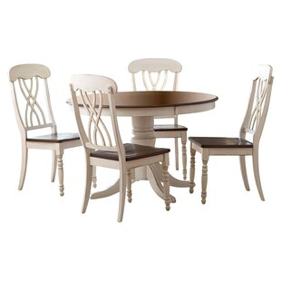 Crozier 5 Piece Dining Set Charlton Home