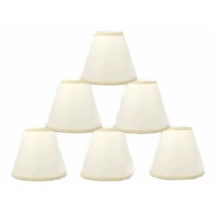 6 Paper Hardback Empire Lamp Shade (Set of 6)