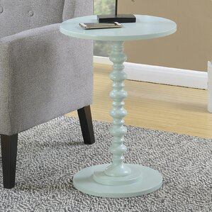 Segera Spindle End Table by Charlton Home