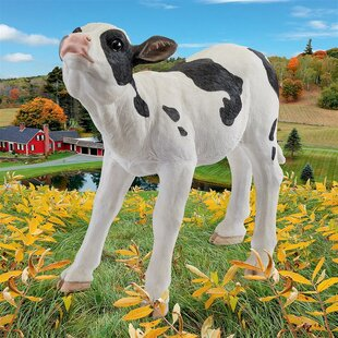 Design Toscano Clarabelle the Cow Farm Statue