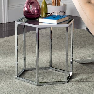 Sapphire Glass End Table