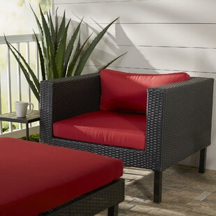 Breakwater Bay Zoar Patio Chair with Cush..