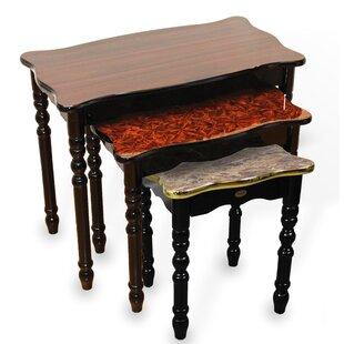 Uniquewise 3 Piece Nesting Tables