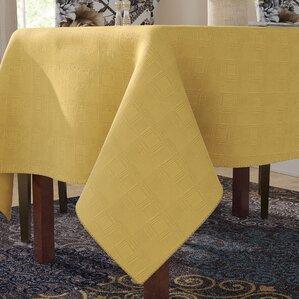 Stewartstown Geometric Spill Proof Fabric Tablecloth