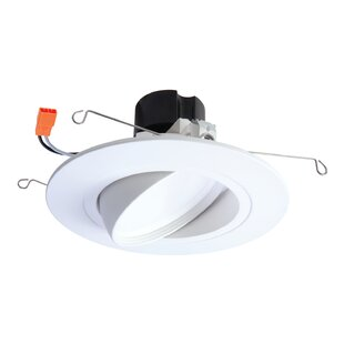 Best Price Integrated LED Narrow Flood Adjustable 6 Gimbal Ring Recessed Trim By Halo