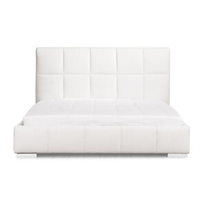 Forbes Upholstered Platform Bed by Wade Logan