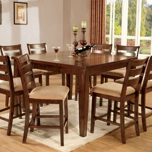 Hokku Designs Pristine 7 Piece Counter Height Dining Set