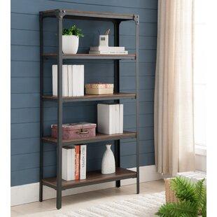 InRoom Designs 5 Tier Etagere Bookcase