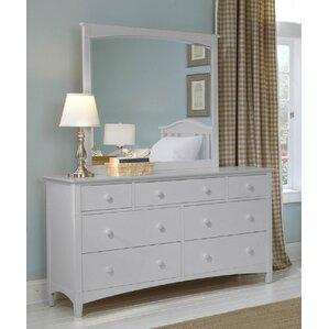 Bonneau 7 Drawer Dresser with Mirror by Harriet Bee