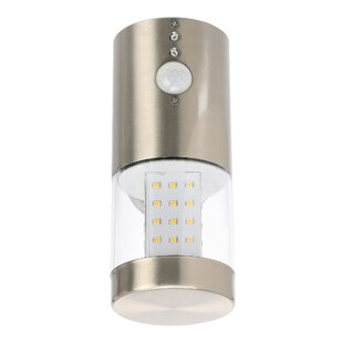 Smithey LED Outdoor Sconce With PIR Sensor By Sol 72 Outdoor