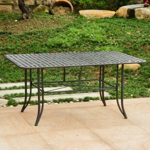 Doric Metal Dining Table