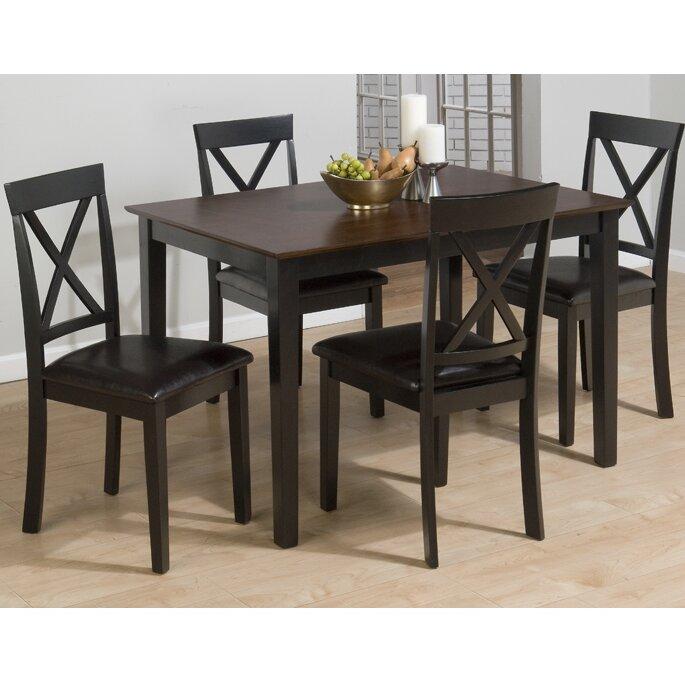 Jofran Burly 5 Piece Dining Table Set & Reviews   Wayfair