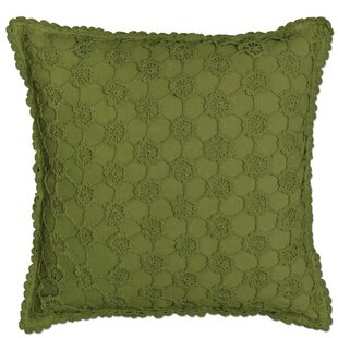 Chadford Crochet Envy Pillow Cover by August Grove Purchase