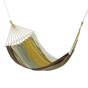 Millwood Pines Upper Stanton Striped Earth Cotton Tree Hammock