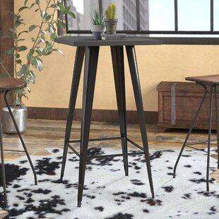 De Beque Black Pub Table Trent Austin Design