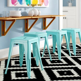 Affordable Price Blaney 18 Bar Stool (Set of 4) by Brayden Studio Reviews (2019) & Buyer's Guide