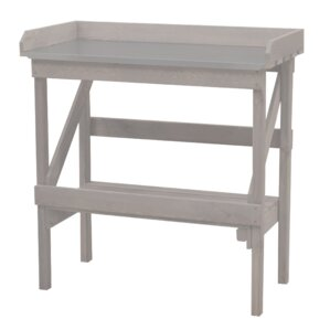Wood/Metal Planting Table
