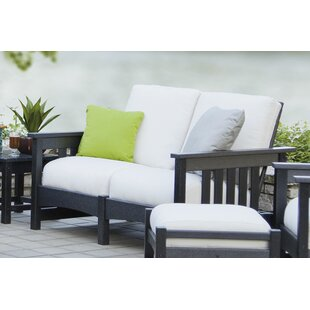 Mission Settee by POLYWOOD®
