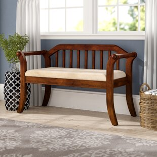 Yorkshire Upholstered Bench by Alcott Hill
