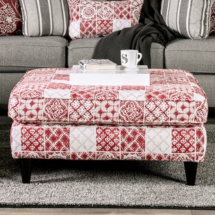 Lucienne Square Ottoman by Red Barrel Studio