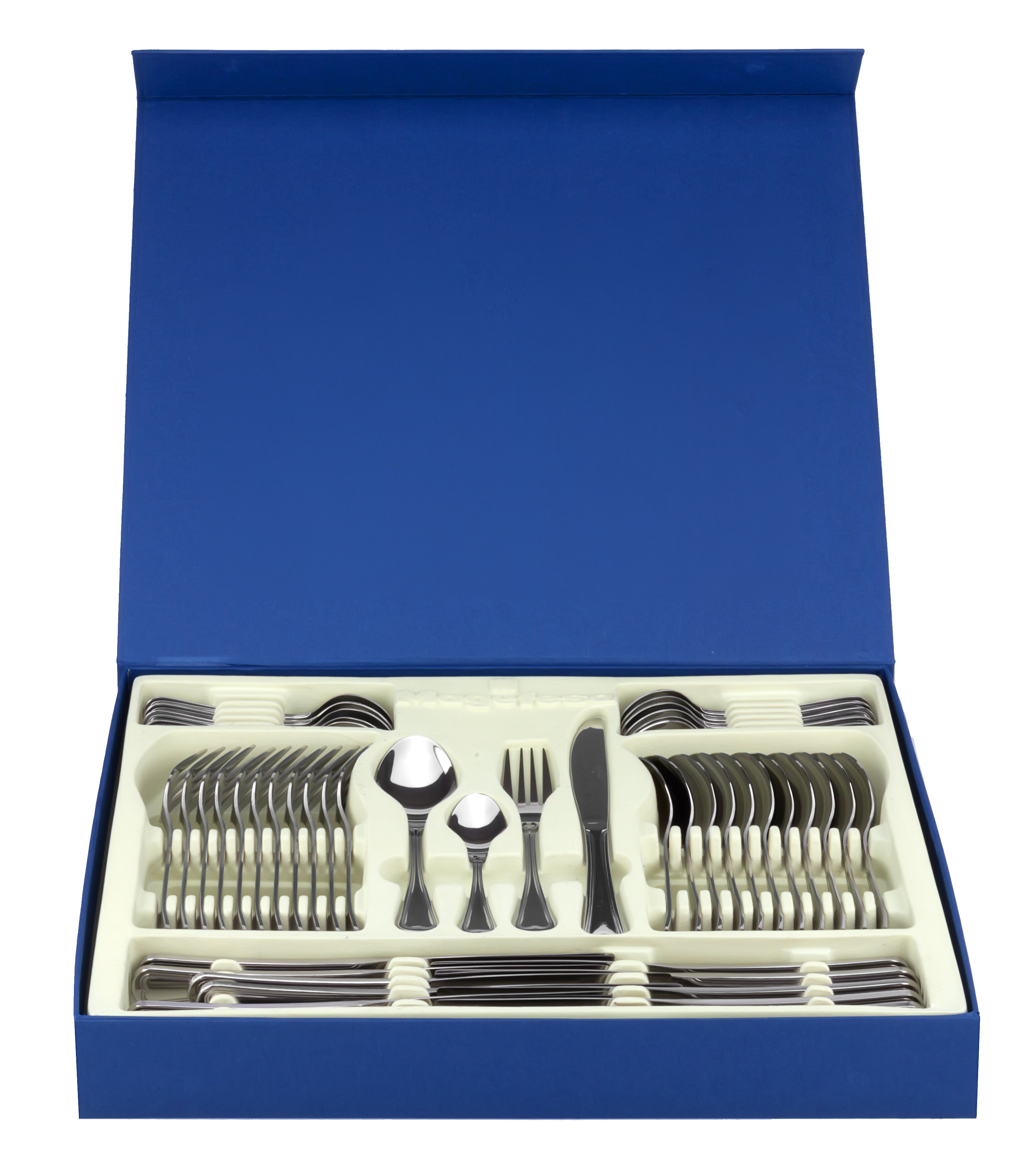Magefesa Cordoba 48 Piece Stainless Steel Flatware Set | Wayfair