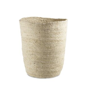Design Ideas Maiz Wicker Waste Basket