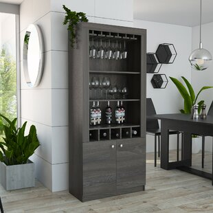 Mission Style Liquor Cabinet Wayfair