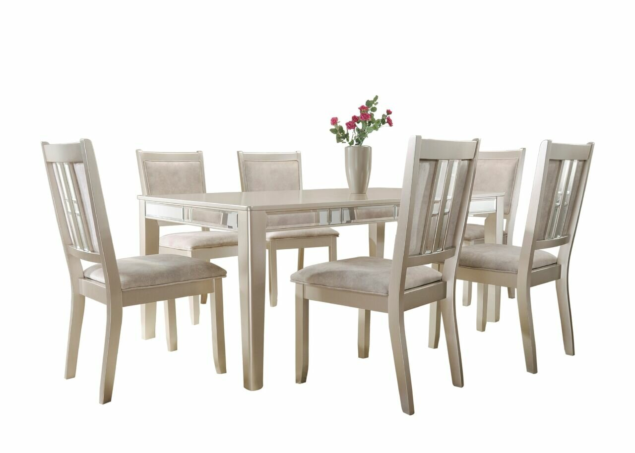 Remarkable Zawacki 7 Piece Standard Height Dining Set Ncnpc Chair Design For Home Ncnpcorg