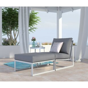 Mirabelle Armless Patio Chair with Cushion