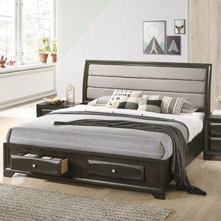 Beagan Upholstered Storage Sleigh Bed