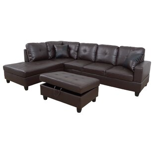 Plunk Sectional with Ottoman