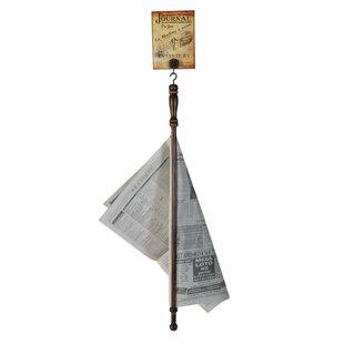 Shoshoni Newspaper Holder By Brambly Cottage