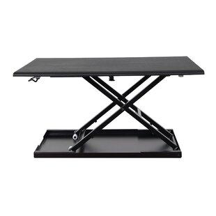 Luxor Pneumatic Adjustable Standing Desk Converter
