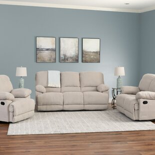 Condron Reclining 3 Piece Living Room Set