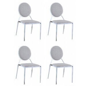 Fielding Upholstered Dining Chair (Set of 4) by Mercer41