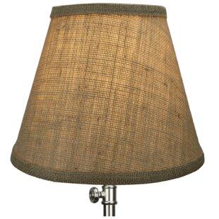 9 Burlap Empire Lamp Shade