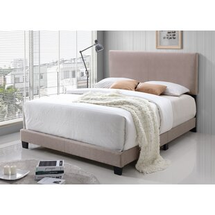 Geiger Upholstered Panel Bed by Ebern Designs Wonderful
