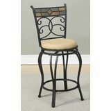 Bensonhurst Swivel Bar Stool (Set of 2) by Fleur De Lis Living